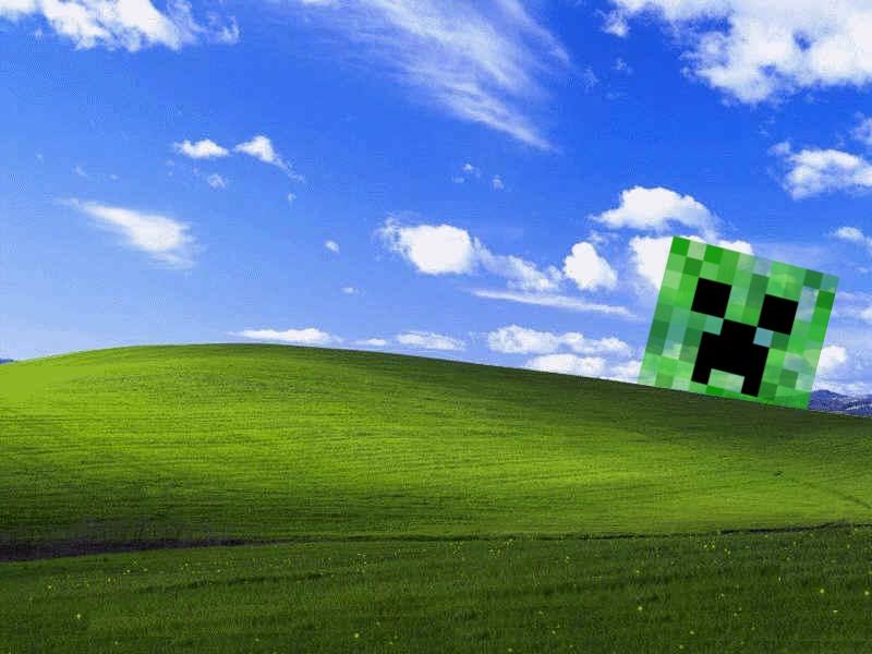 Creeper Wallpaper Windows 8 Windows xp creeper by hillaw 800x600