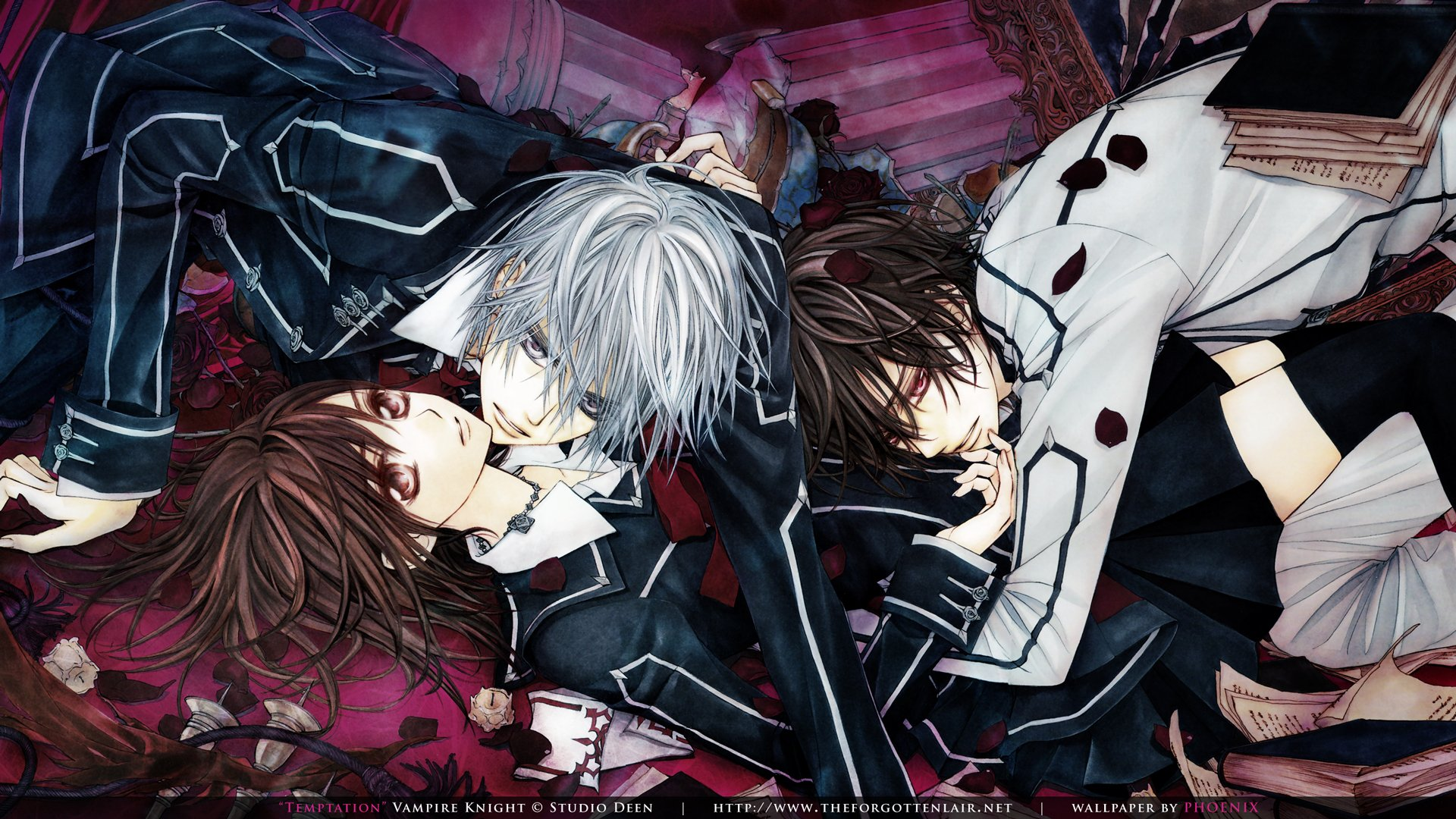 42 vampire knight hd wallpaper on wallpapersafari - Wallpaper vampire anime ...