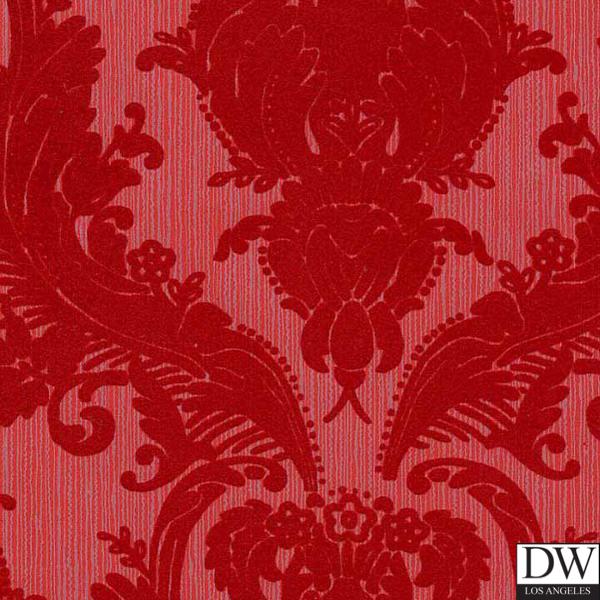 red flocked velvet patterns victorian flocked velvet wallpaper red on 600x600