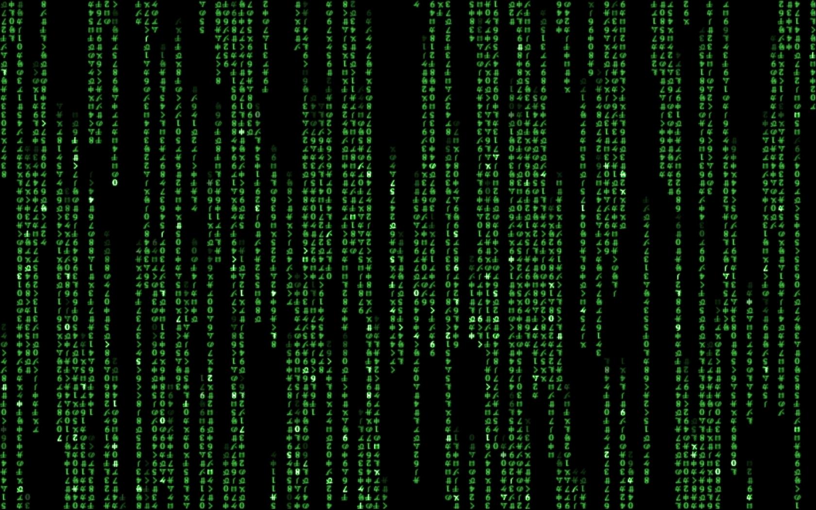 matrix code hollywood 2880x900 wallpaper Art HD Wallpaper download 1680x1050