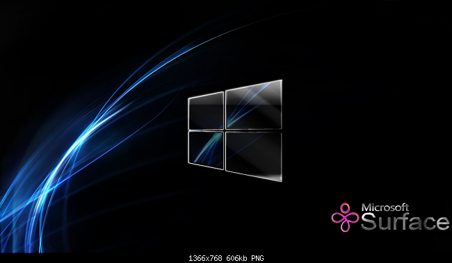 ... -microsoft-surface-wallpaper-microsoft-surface-glass-blue-glows.png