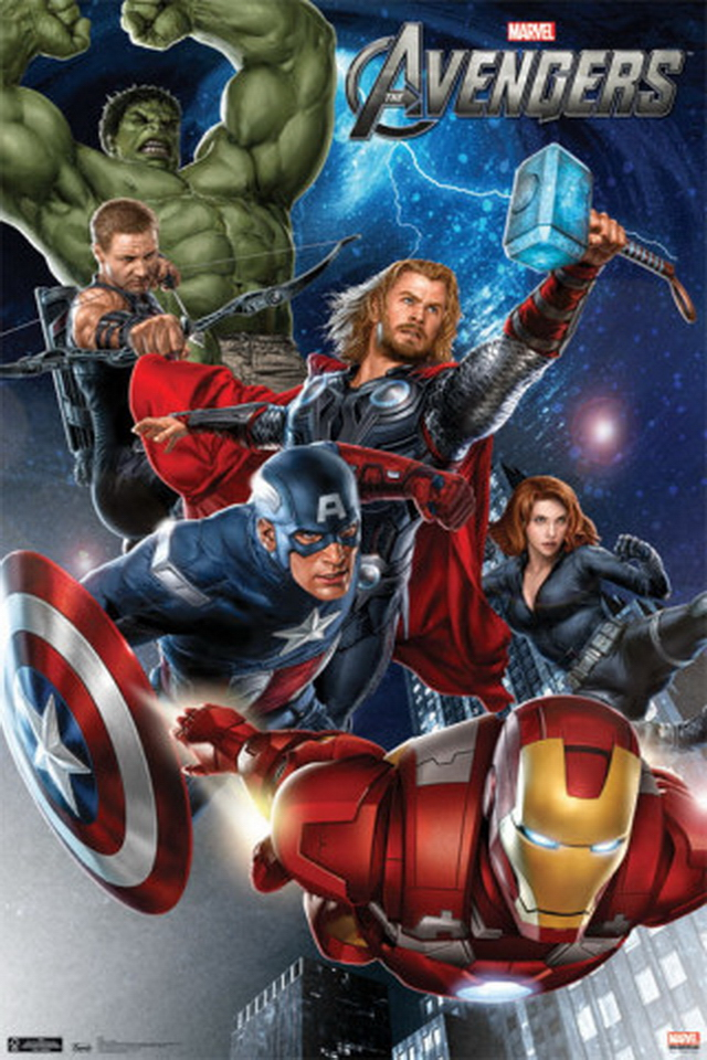 Avengers iPhone 4 Wallpaper Wallpapers Photo 640x960