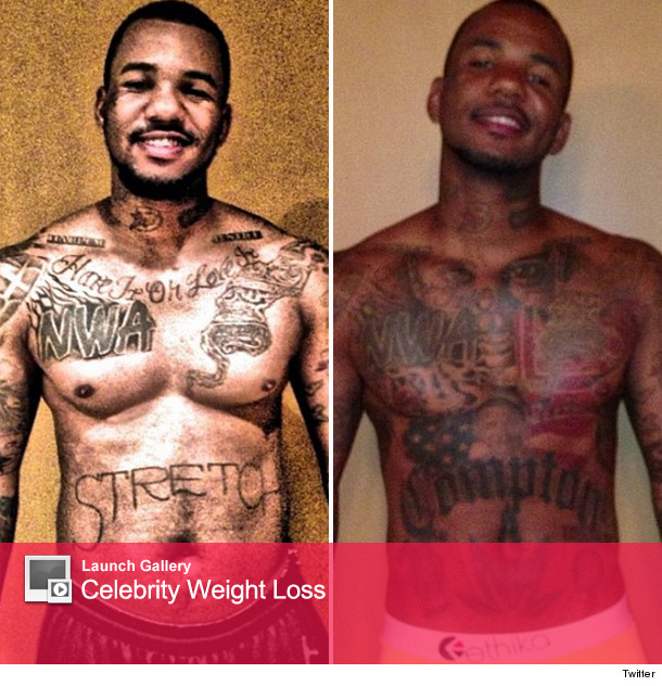 The Game Rapper Tattoothe Game Flaunts Weight Loss In New Picture 610x632