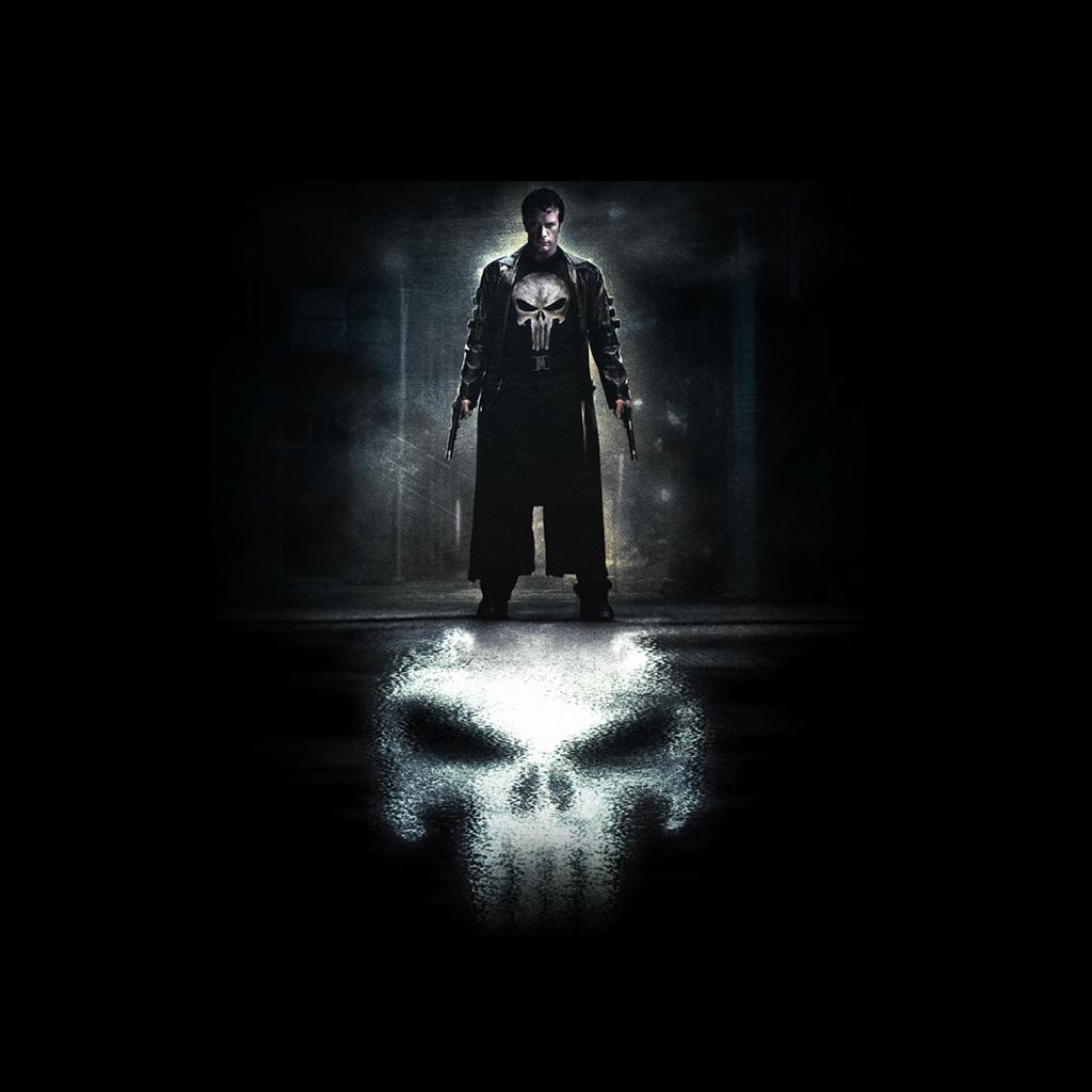Punisher Logo Wallpaper Iphone 5 Punisher wallp 1024x1024