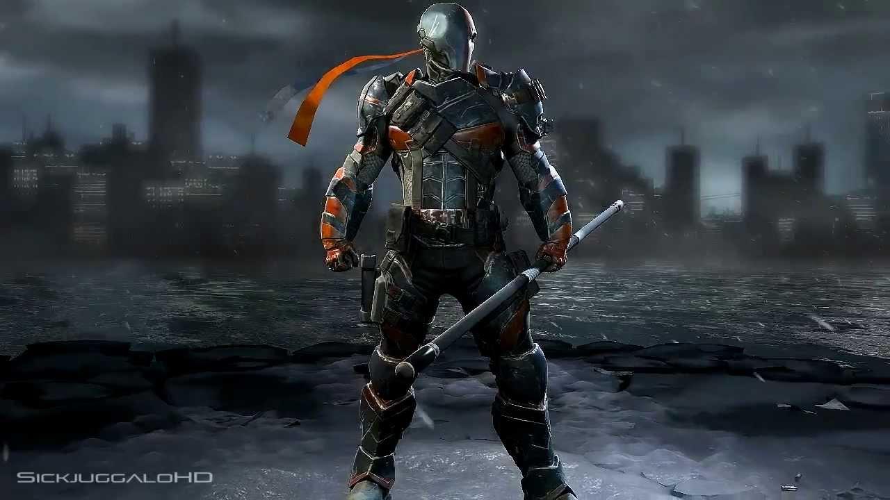 Related Deathstroke Mask Deathstroke Arkham Origins Helmet 1280x720