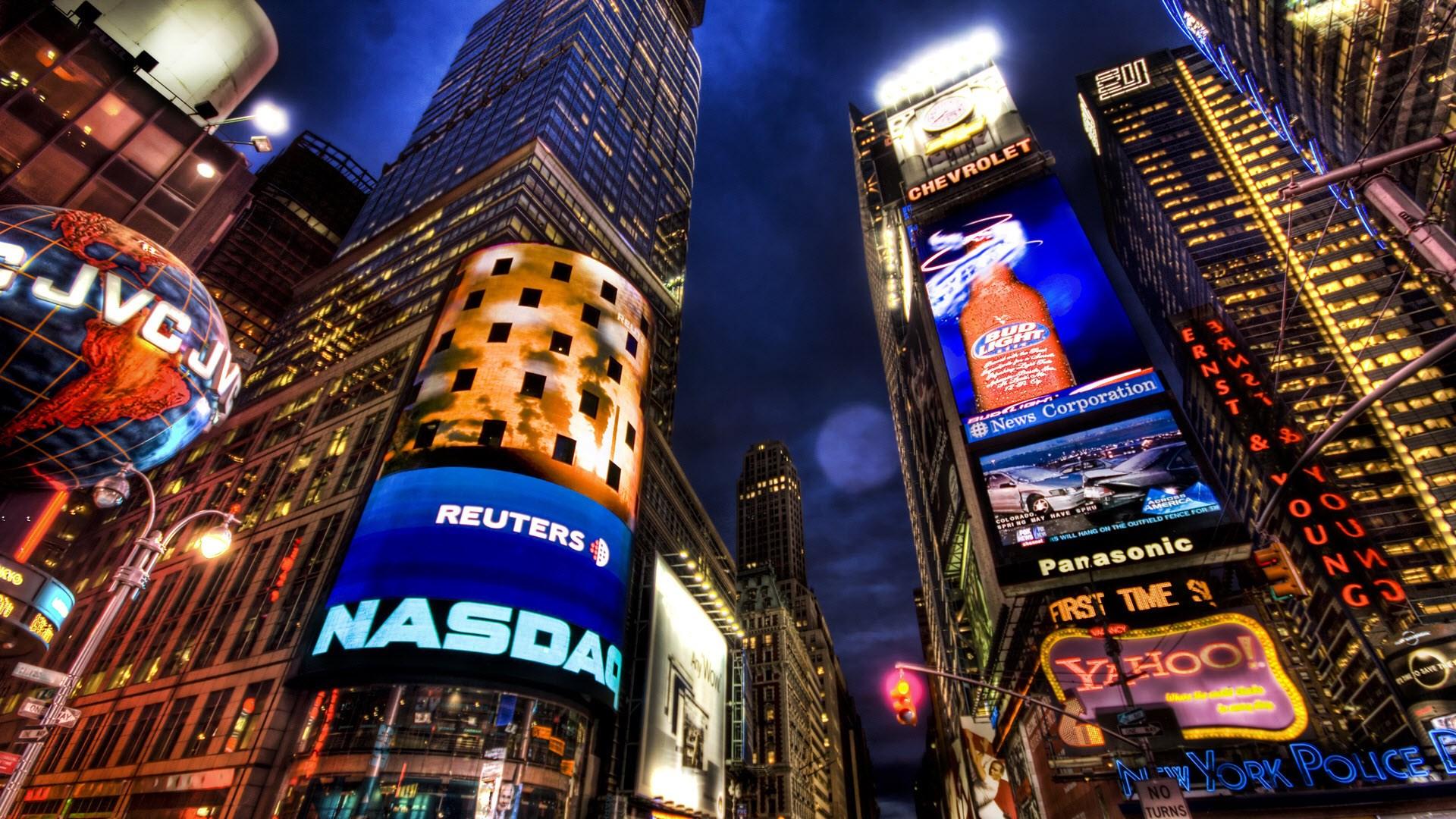 NASDAQ Stock Market New York Wallpaper [1920x1080] 1920x1080