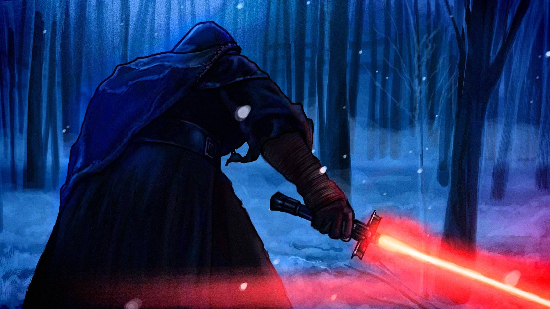 Kylo Ren Star Wars Motion Graphic 1920x1080