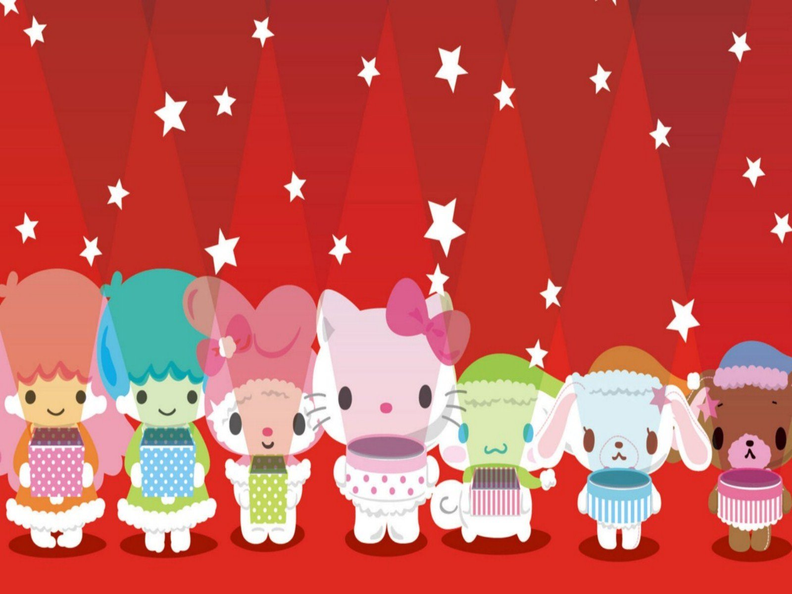 Hello Kitty Christmas iPhone Wallpapers  Hello Kitty Forever