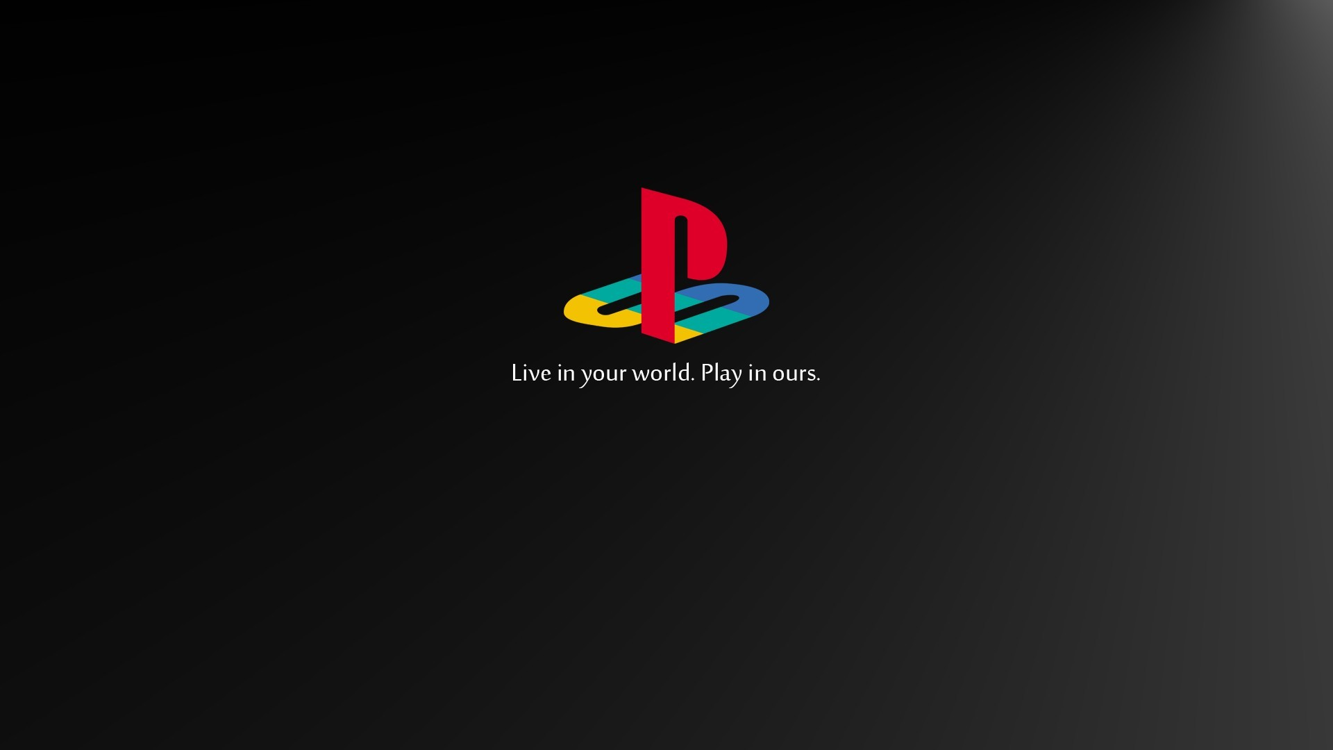 PlayStation Retro Games Video Games Logo Sony Black 1920x1080