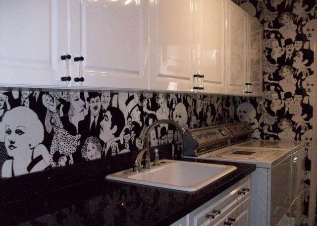 Ugly House Photos Blog Archive Wallpapered Bathrooms 640x456