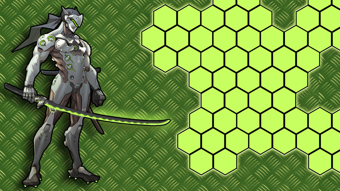 genji overwatch wallpaper overwatchgenji overwatch wallpaper 1191x670