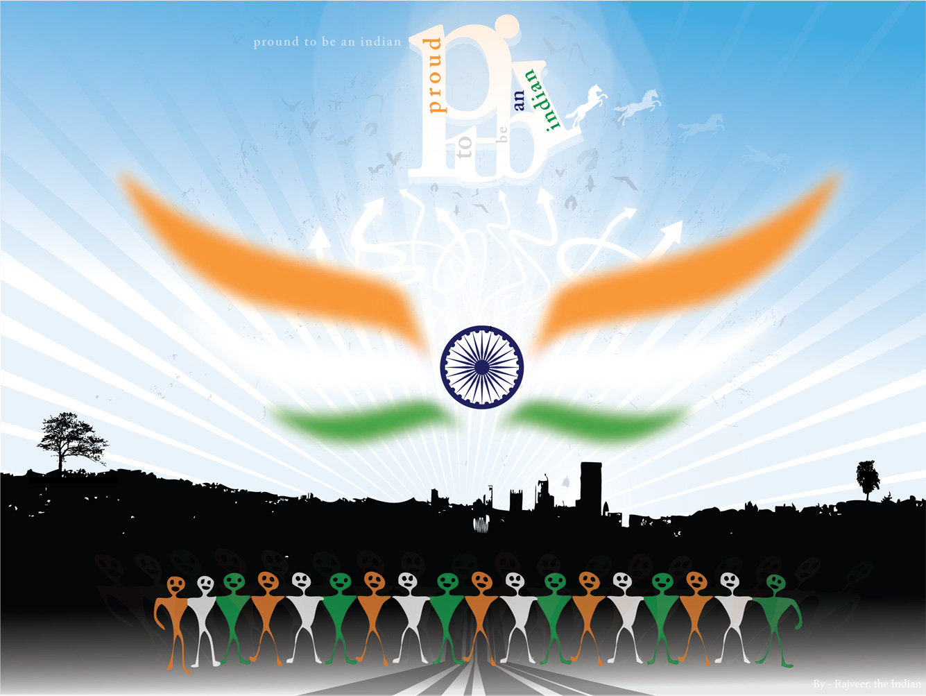 Independence Day India Wallpapers 1335x1003