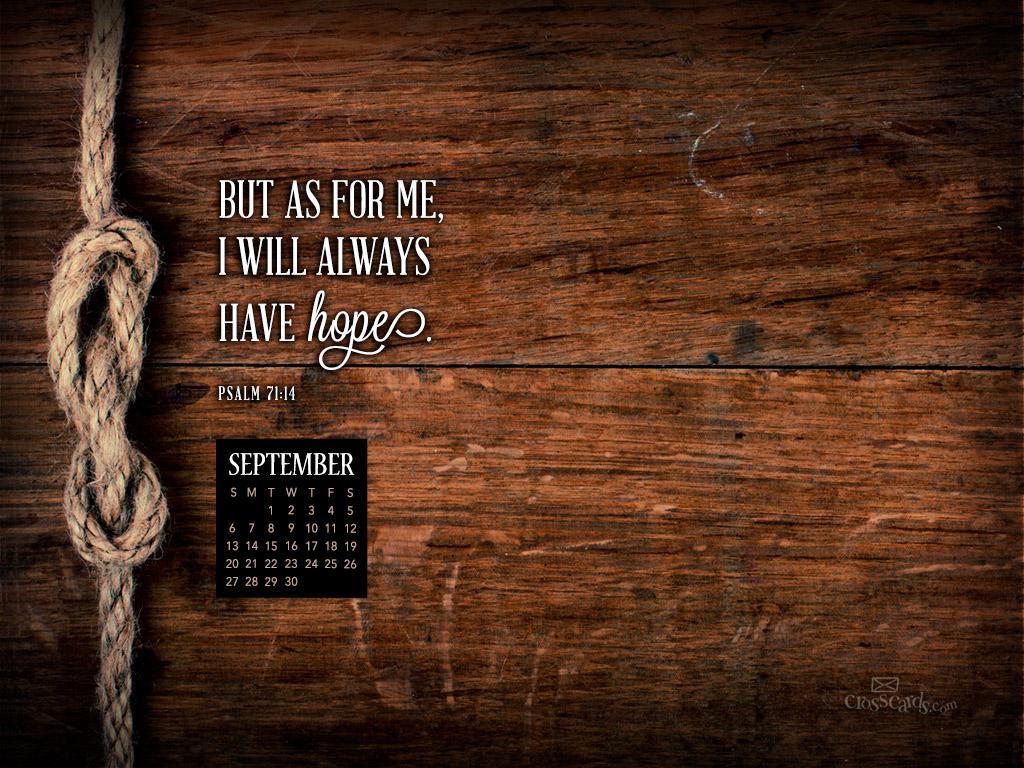 September 2015   Psalm 7114 Desktop Calendar  Monthly Calendars 1024x768