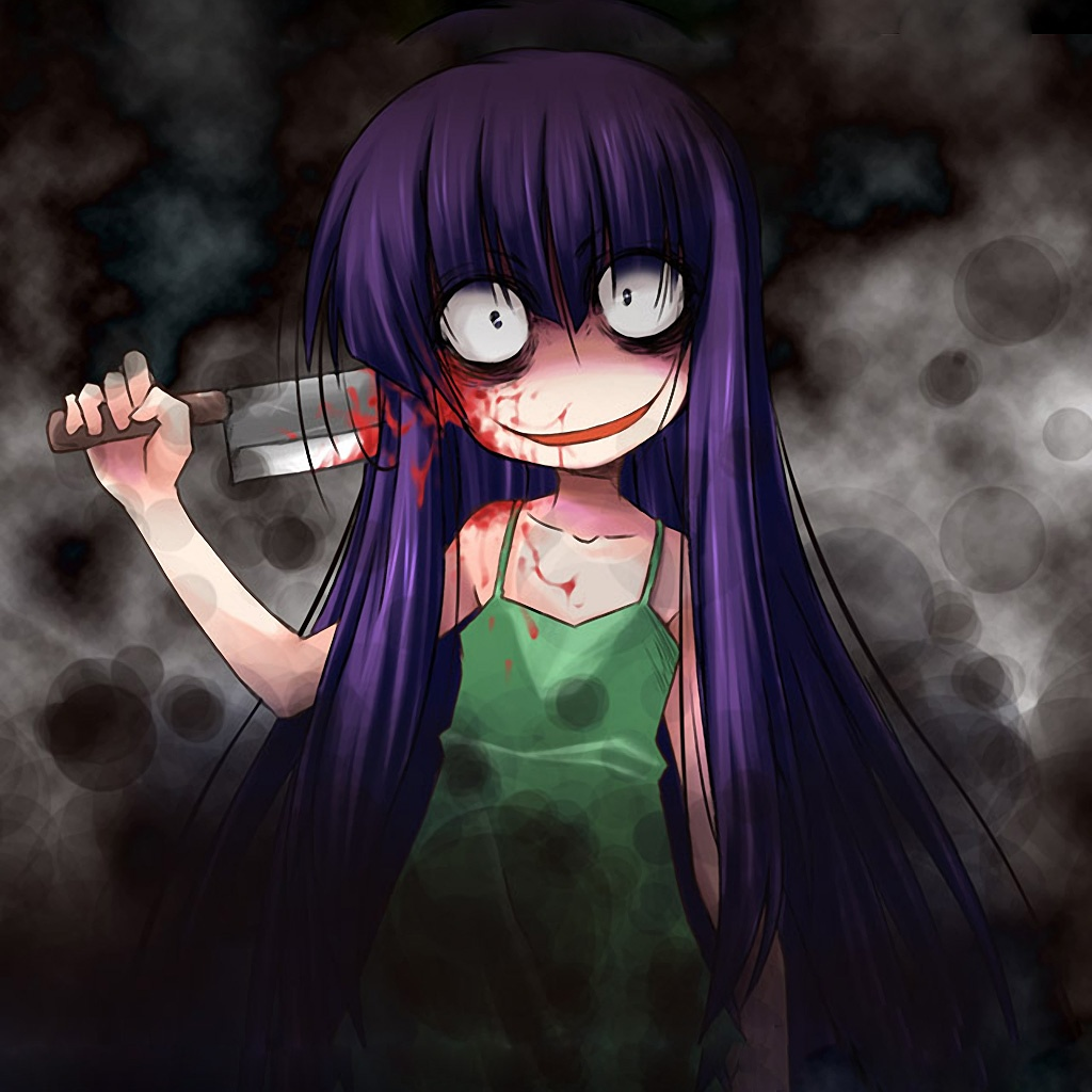 other anime hd wallpapers horror creepy bloodjpg Creepypasta Wiki 1024x1024