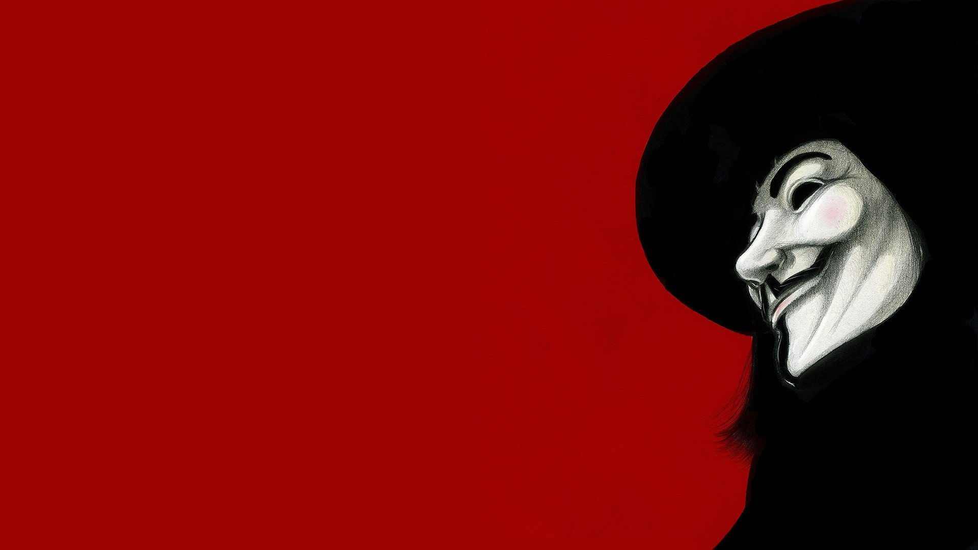 Free Download Movies Guy Fawkes V For Vendetta Fan Art Red