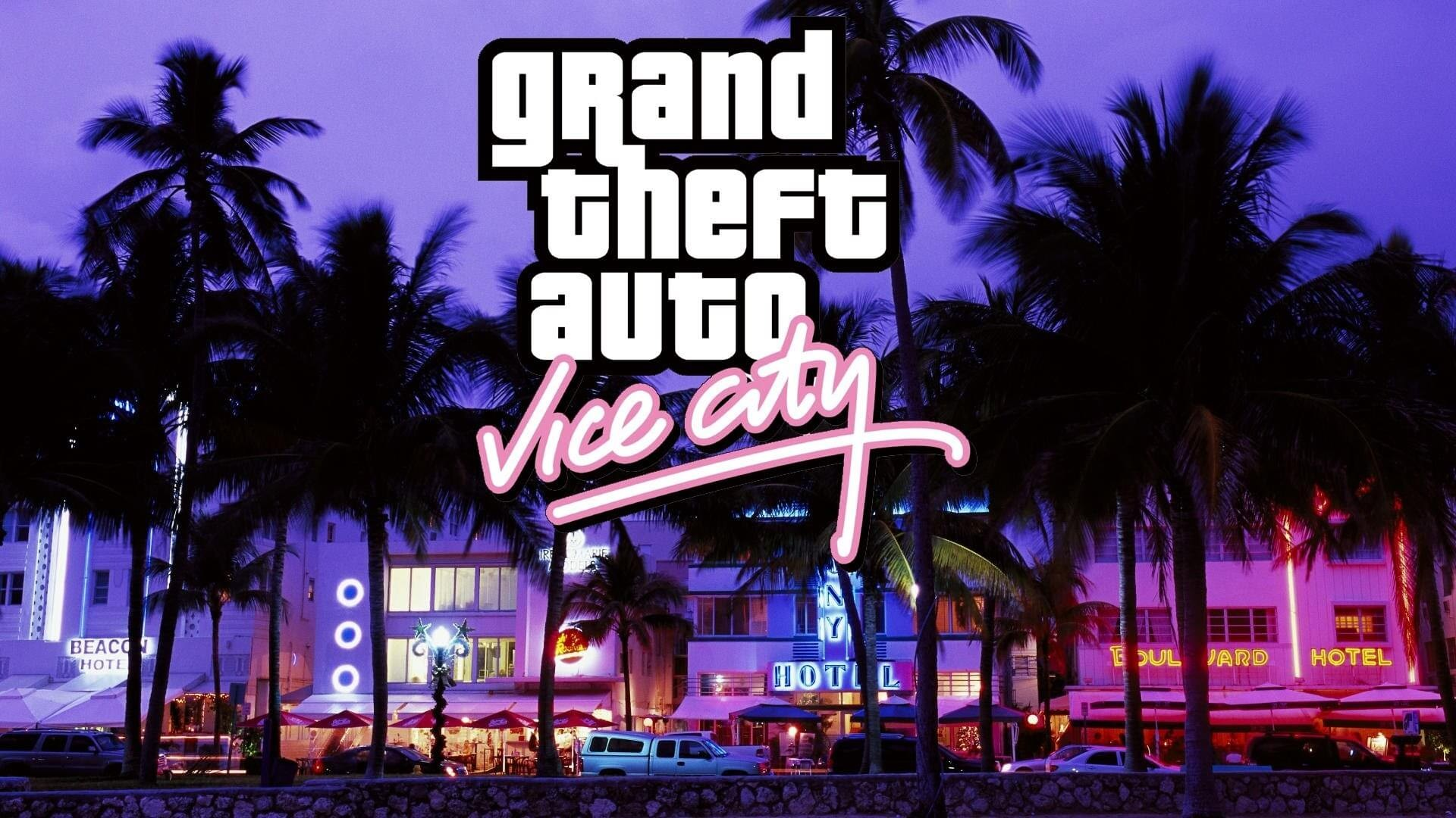 25 Grand Theft Auto Vice City Wallpapers On Wallpapersafari
