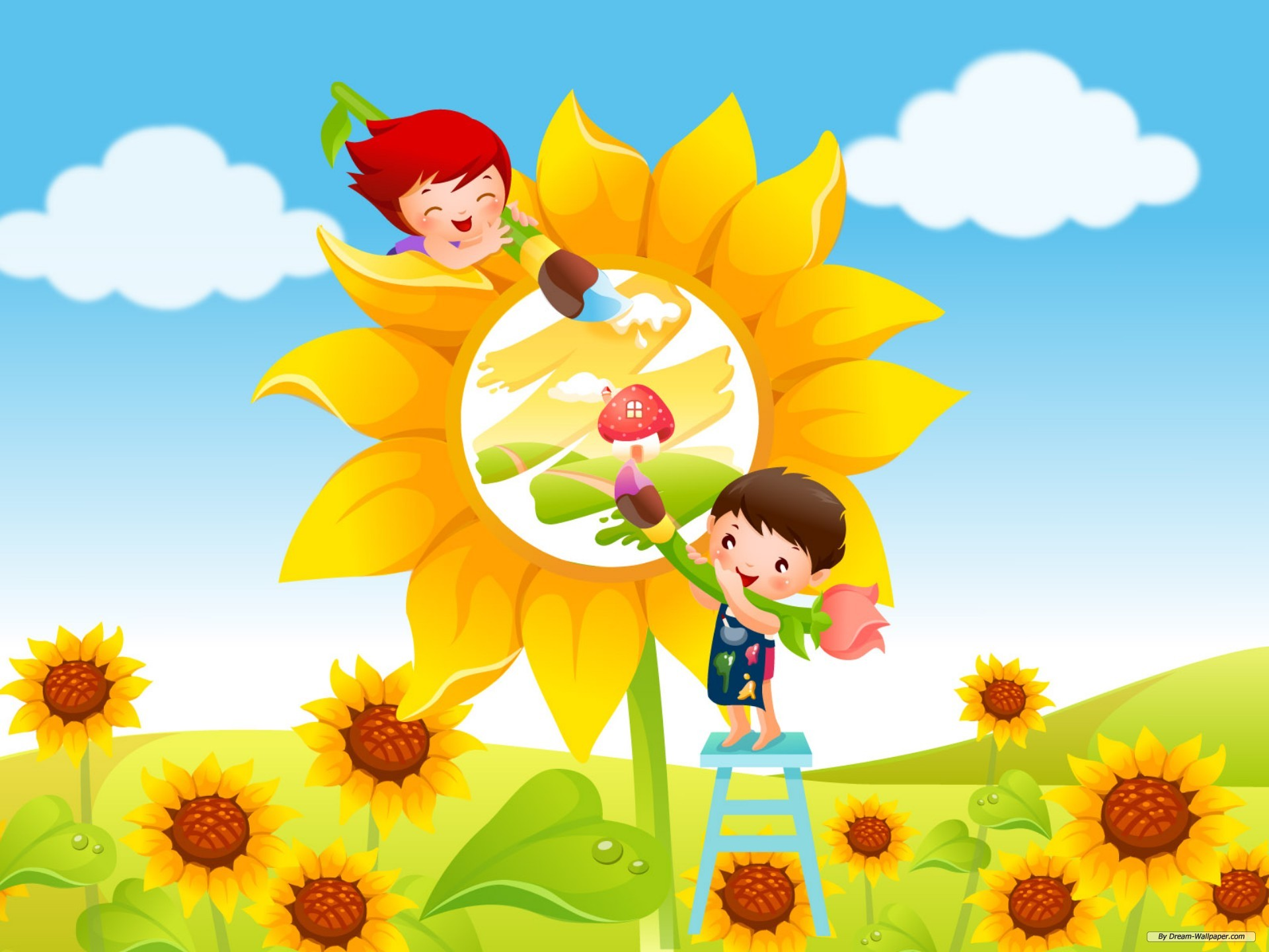 Kids Background Wallpapers WIN10 THEMES 1920x1440