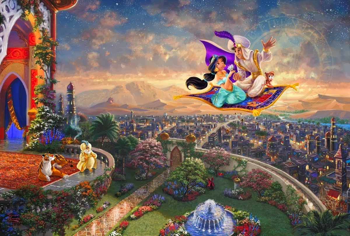 Thomas Kinkade Disney Wallpaper - Viewing Gallery