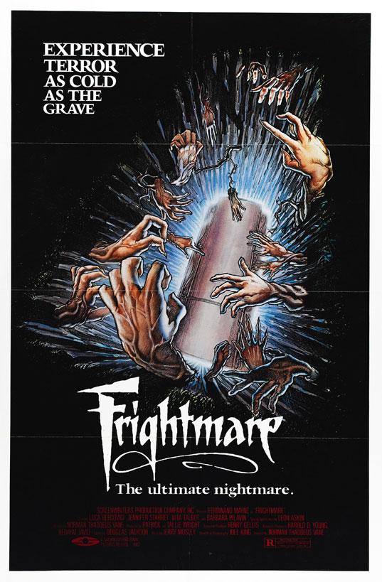 80s Horror Movie Wallpaper Frightmare horror movie poster 537x819