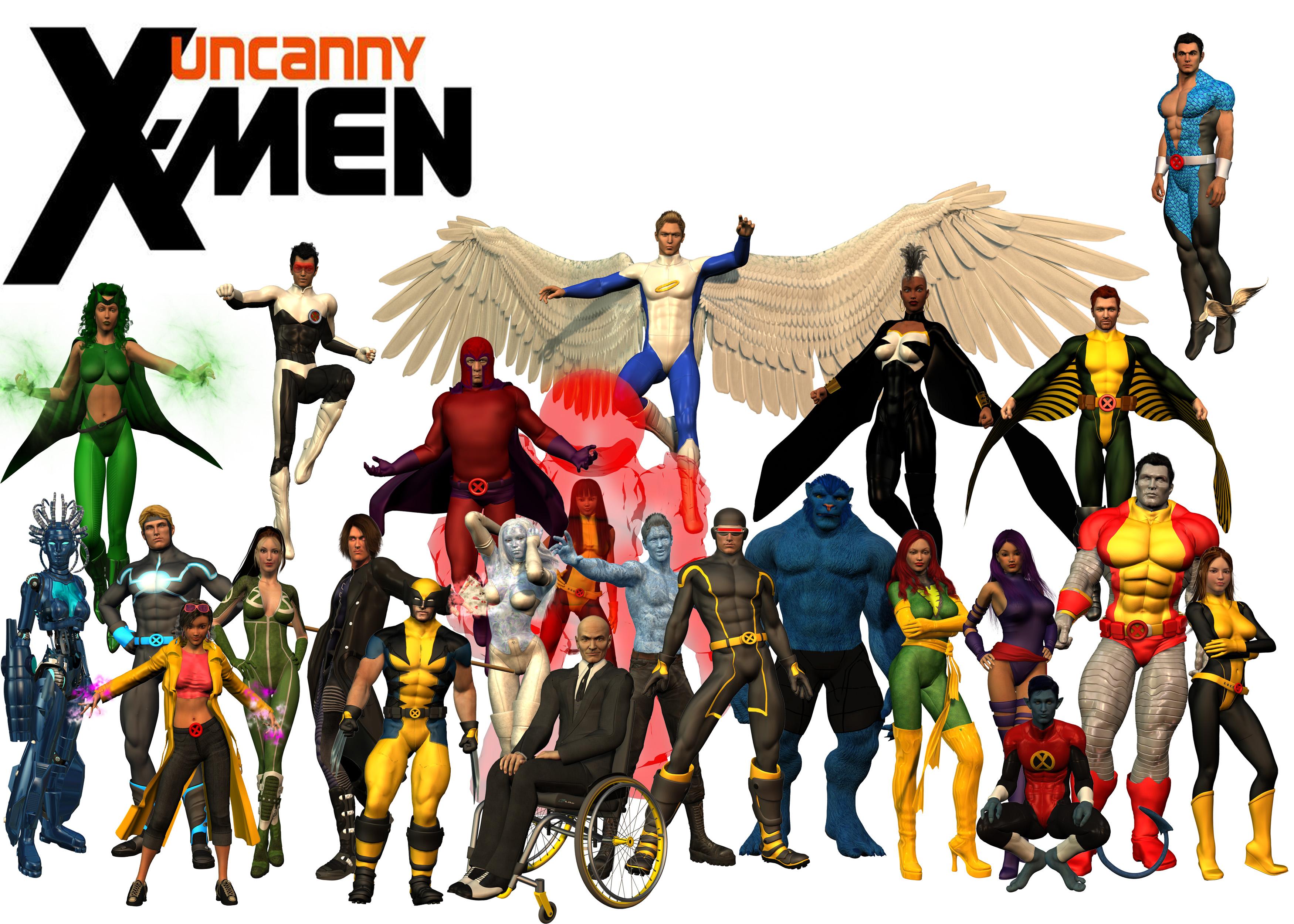 Download Uncanny X Men By Dragonspawn2000 3500x2500 49