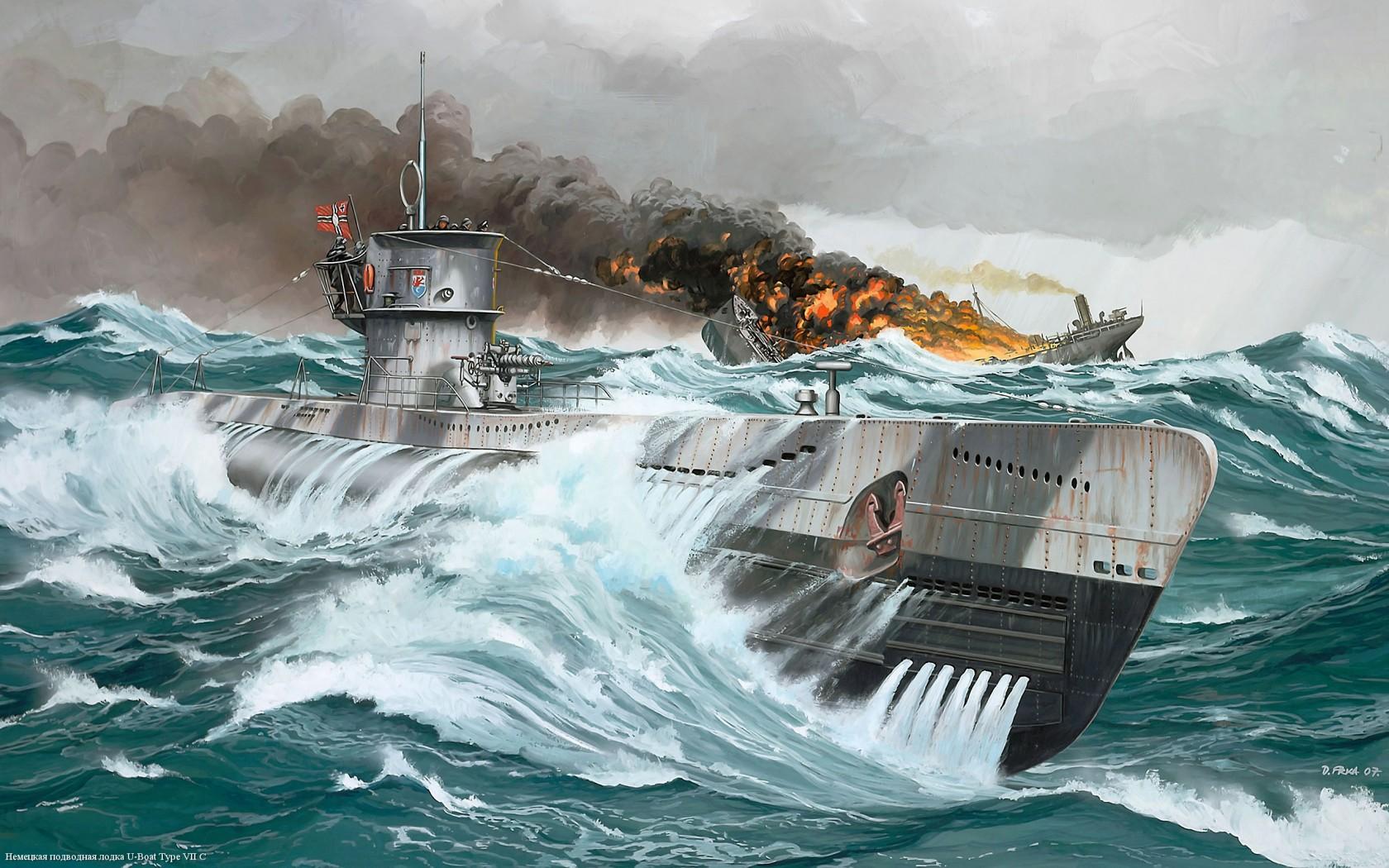Submarine Computer Wallpapers Desktop Backgrounds 1680x1050