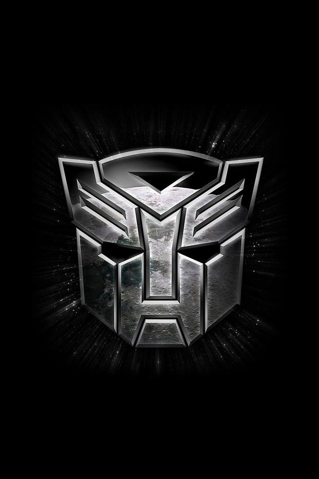 Transformers Logo iPhone 4 Wallpaper Wallpapers Photo 640x960