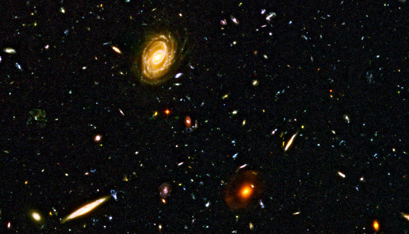 Back Gallery For Hubble Ultra Deep Field High Resolution Wallpaper 820x469