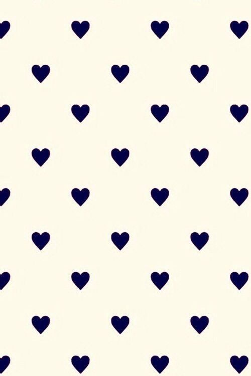 Cute Background hearts iPhone iPod etc Backgrounds Pinterest 500x750