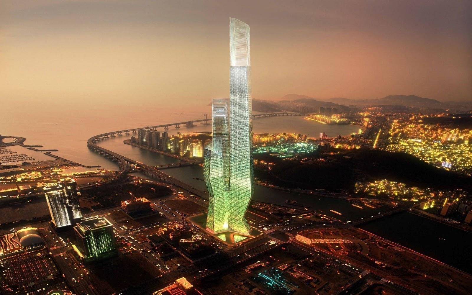 de el millennium tower world business center de la ciudad de Sel 1600x1000