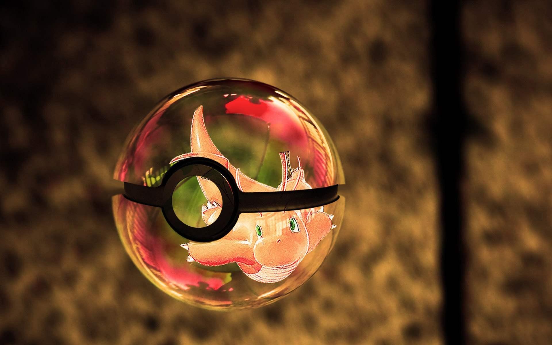 wallpaper dragonite pokeball pokmon pokemon ball pokemon wallpapers 1920x1200