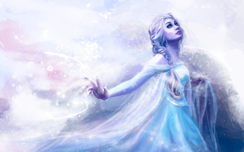 Snow Queen Elsa Artwork HD Wallpapers 2880x1800
