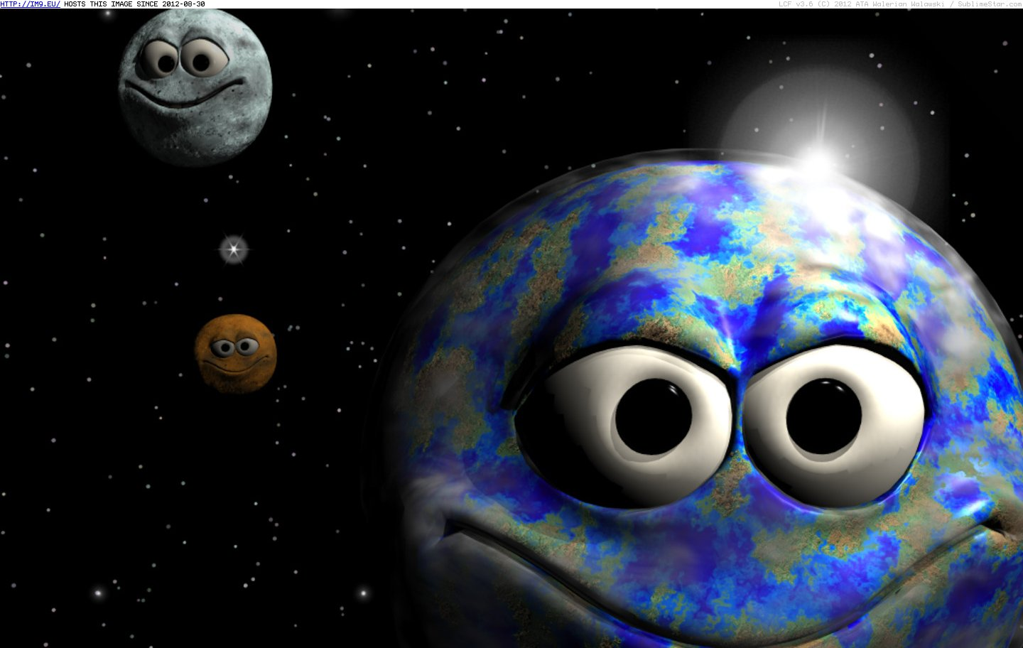 Smiley Wallpapers   Smileys Planets smiley wallpaper 1440x912