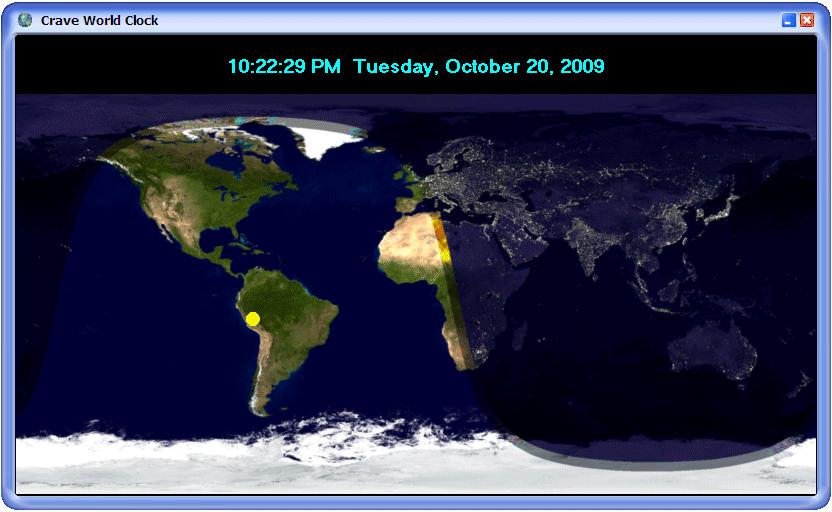 World time clock map sunclock from worldtimezone shows earth day and httppcwincomdesktop enhancementscrave world clockscreenhtm 832x512 gumiabroncs Choice Image