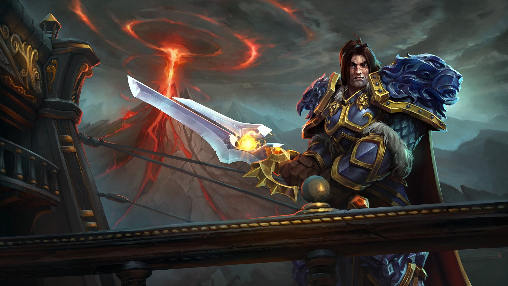 Mobile Legend Tigreal screengrab heroes of the storm King Varian 1920x1080