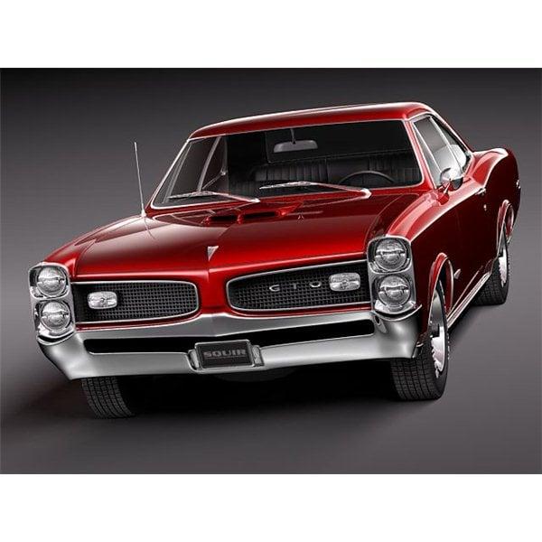 Pontiac Car Wallpaper: 1966 Pontiac GTO Wallpaper