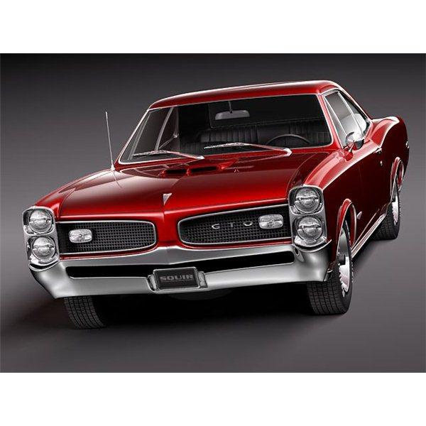1966 Pontiac GTO Wallpaper