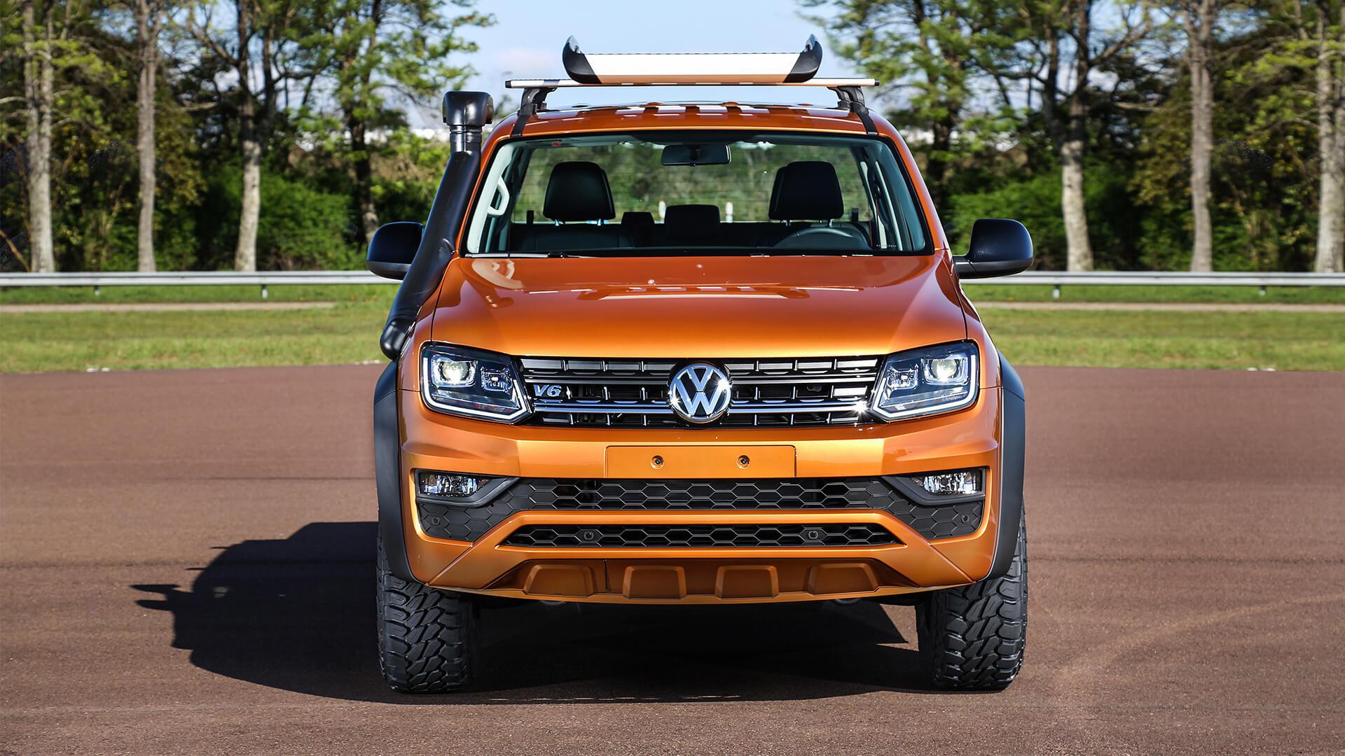 Volkswagen Amarok V6 Concept Wallpaper HD Car Wallpapers ID 11521 1920x1080