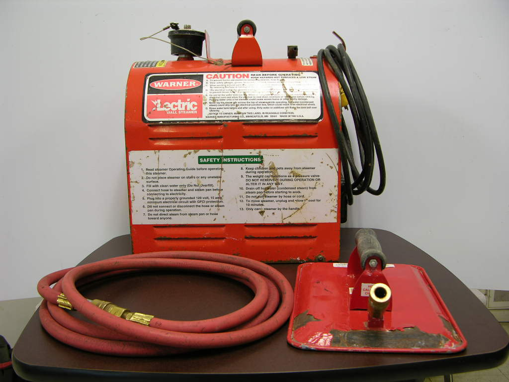 Warner Lectric 5676 Electric Wallpaper Steamer Stripper Remover w Pan 1024x768