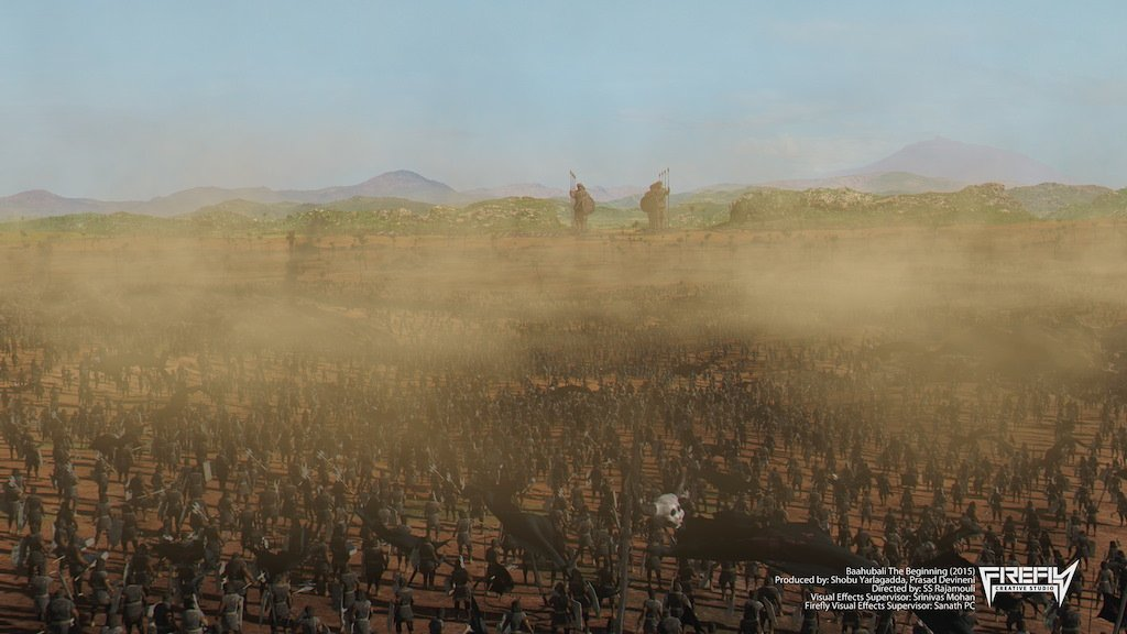 The Making of Baahubalis Epic War Sequences   The Review Monk 1024x576