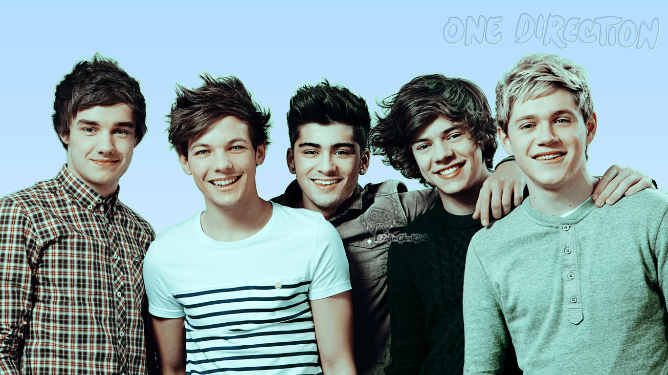 Cute Photography Love One Direction Wallpaper 1366x768