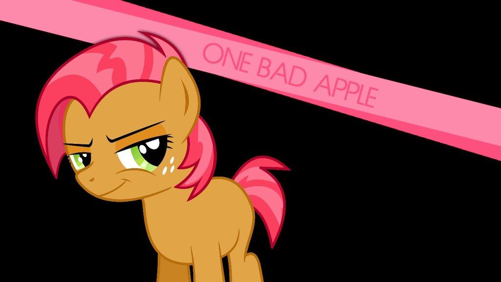 One Bad Apple Wallpaper by Zack Green on deviantART 1024x576