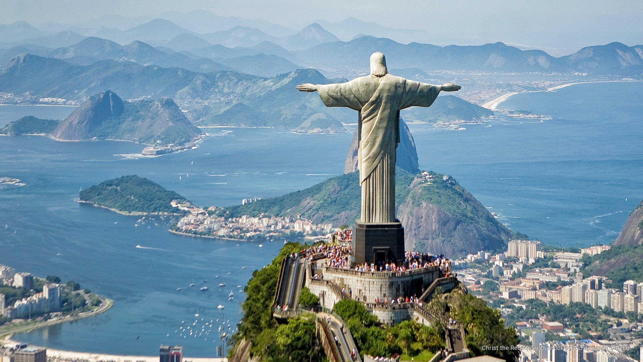Jesus Rio de Janeiro Wallpaper 2560x1440