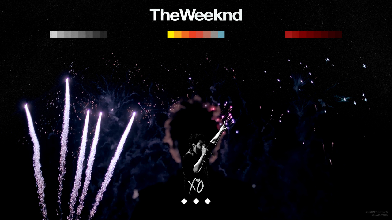 xo the weeknd wallpaper iphone