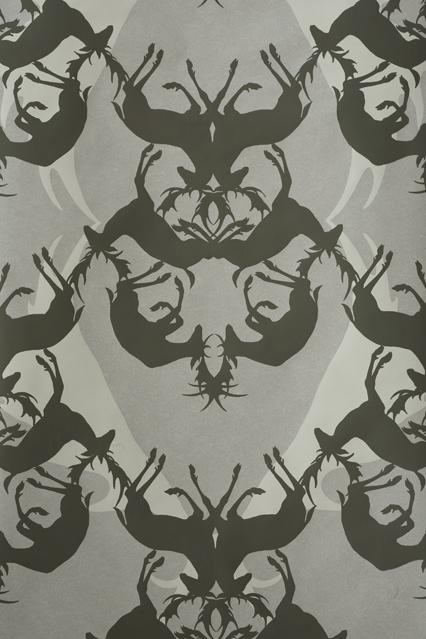 Deerly Camouflage   Wallpaper Ideas Designs   Living Room Bedroom 426x639
