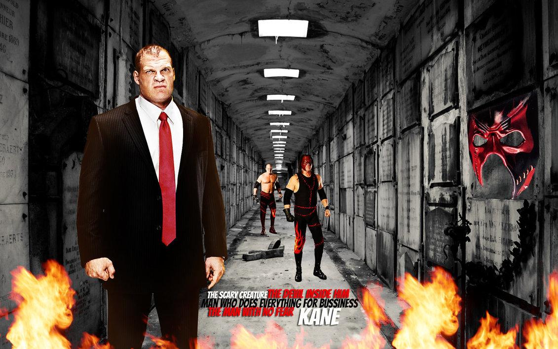 Kane WWE Wallpaper! by menasamih on DeviantArt
