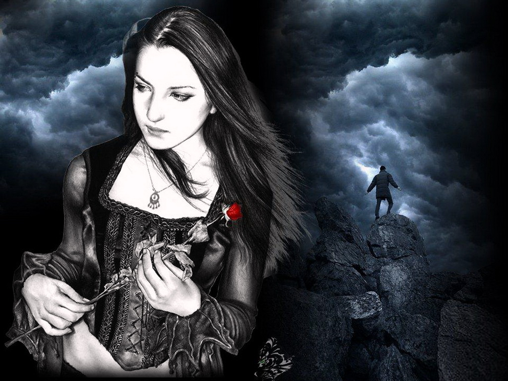 Gothic Girls Wallpapers Woman Gothic Wallpapers Gothic Wallpapers 1024x768