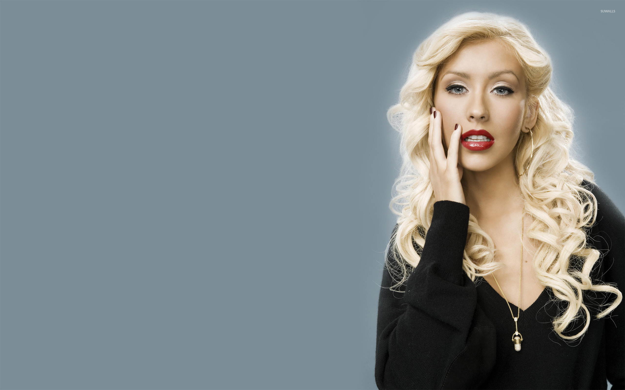 Christina Aguilera [10] wallpaper   Celebrity wallpapers   4494 2560x1600