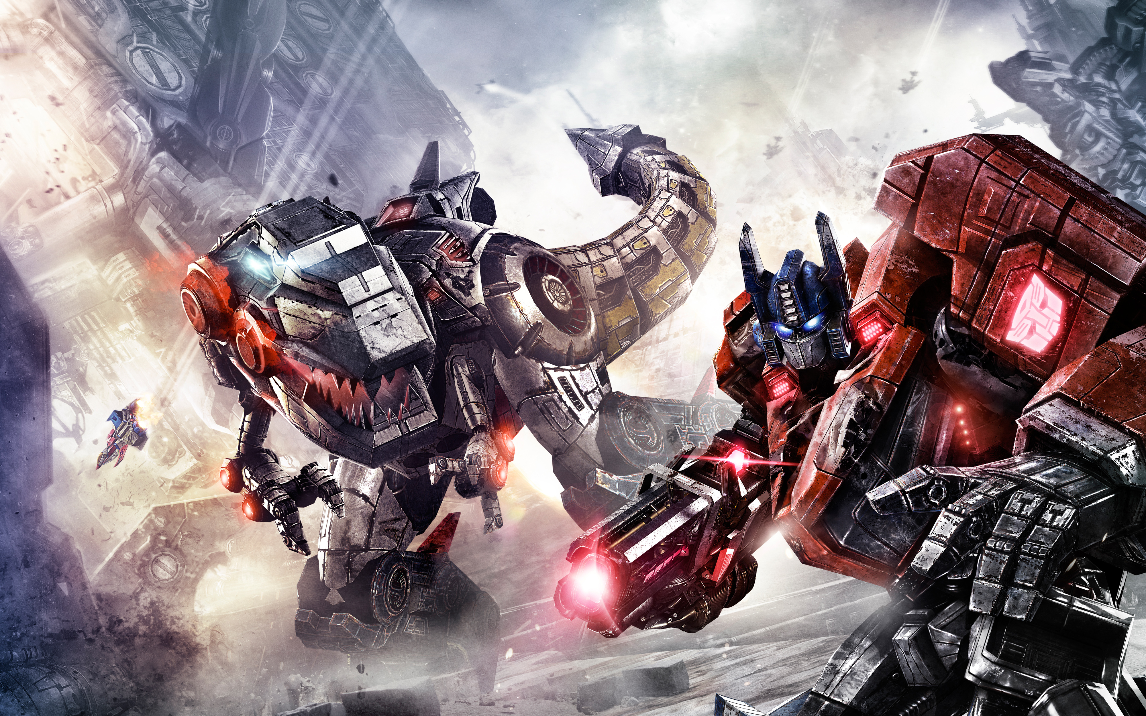 Transformers Fall of Cybertron Wallpapers HD Wallpapers 4000x2500