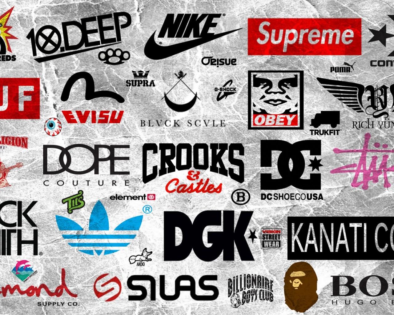 Dope Logo Wallpaper hd Most Dope Logo Wallpaper 1280x1024