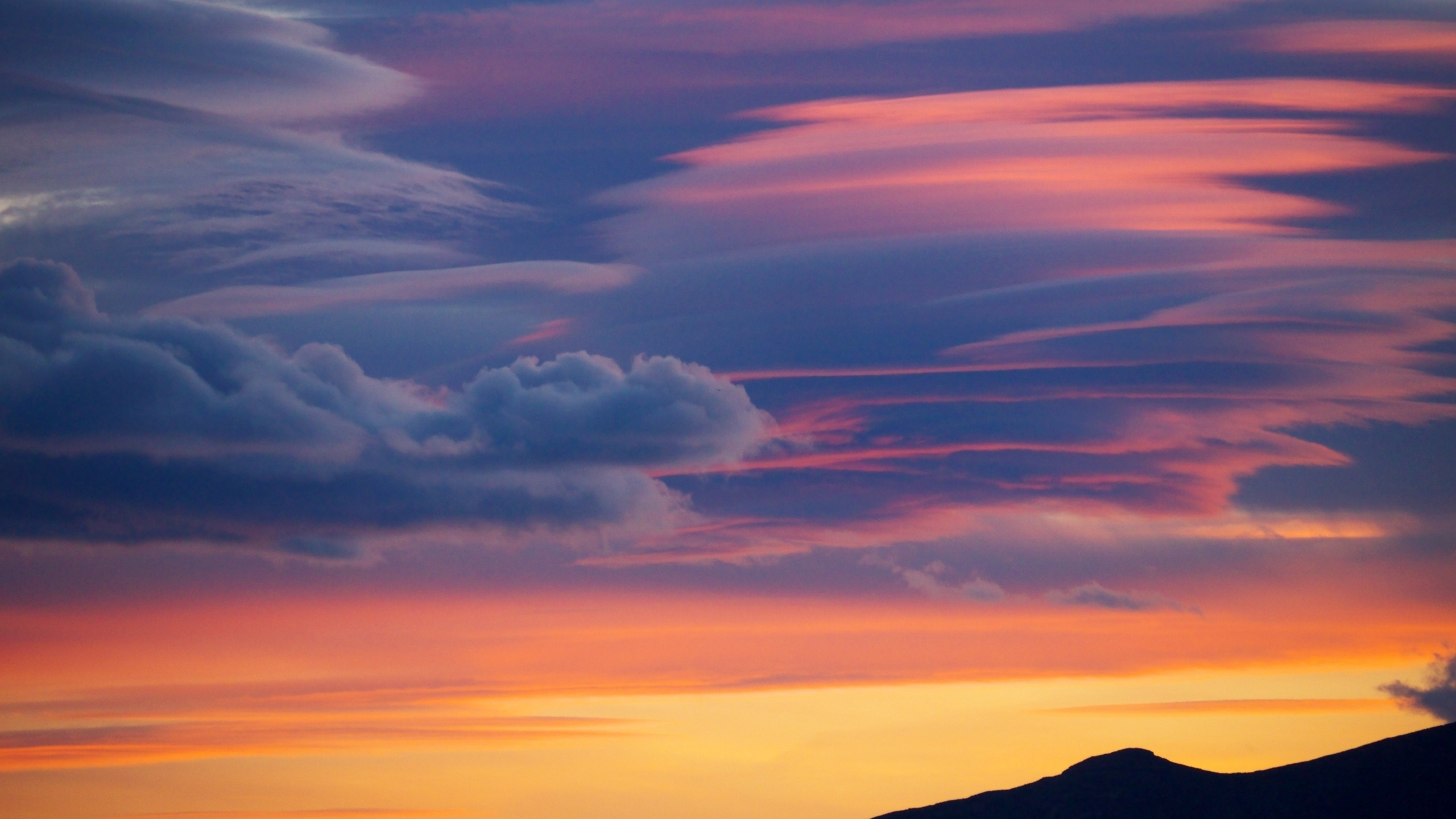 Evening Cloud Mac Wallpaper Download Mac Wallpapers Download 2560x1440